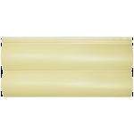 Сайдинг под блок хаус Альта-Профиль двойной узкий (кремовый)
