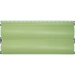 Сайдинг под блок хаус Альта-Профиль двойной узкий (оливковый)