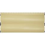Сайдинг под блок хаус Альта-Профиль двойной узкий (песочный)