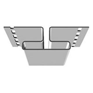Соединительный профиль Rainway (белый)